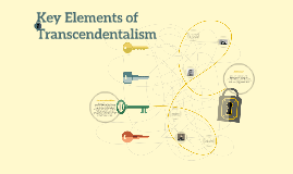 Key Elements of Transcendentalism