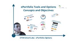 SmartLab ePortfolio Options for Facilitators