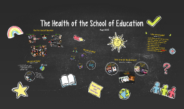 Copy of The Health of the School of Education