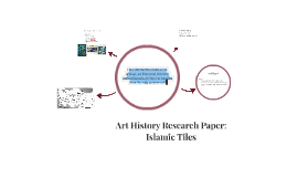 Islamic Tiles Research Paper