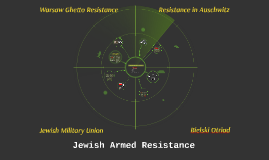 Jewish Armed Resistances of the Holocaust