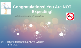 Congratulations! You Are NOT Expecting!