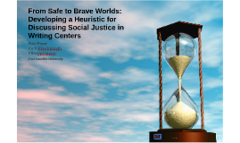 From Safe to Brave Worlds:  Developing a Heuristic for Discu
