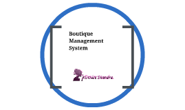 Boutique Management System