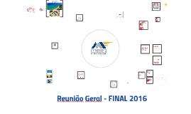 REUNIÃO DEZEMBRO- 2016