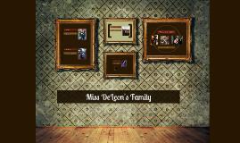 Miss DeLeon's Family