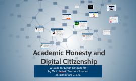 Academic Honesty and