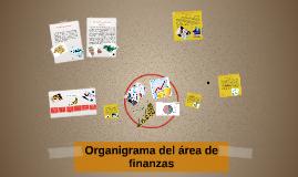 Organigrama del area de finanzas