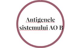 Antigenele sistemului AOB
