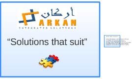 """Solutions that suit"""