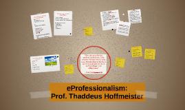 eProfessionalism