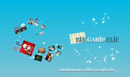 bir garip elif(10.08.14/16.doğumgünü)-Ayşe Günsu Çetin