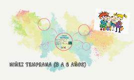 NIÑEZ TEMPRANA (3 A 6 AÑOS)