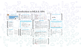 Introduction to MLA & APA