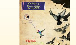 Ventajas y Desventajas de MySQL