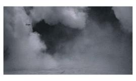 Le nuage de fumée commençait à se propager petit à petit