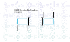 ENGR Scholarship Meeting