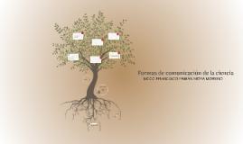 formas de comunicación de la ciencia