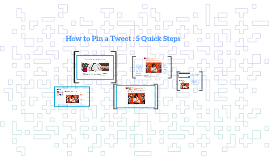 How To Pin a Tweet : 5 Quick Steps