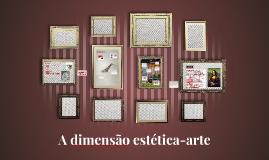 A dimensão estética-arte