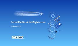 Social Media at Netflights.com