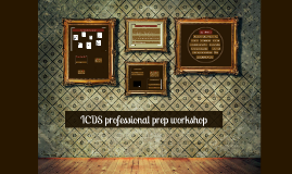 iSchool professional prep workshop