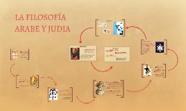 Copy of Filosofía árabe y judía