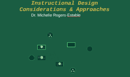 2 Instructional Design Considerations & Approaches (SUNY Delhi)