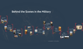 behind the scenes in the military