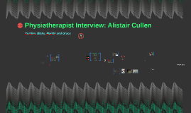 Physiotherapist Interview: Alistair Cullen