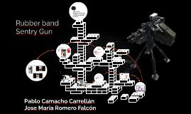 Rubber band Sentry Gun