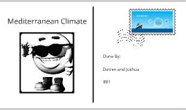 Mediterranean Climate