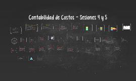 Contabilidad de Costos - Sesiones 4 y 5