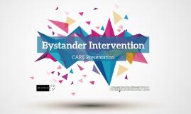 Bystander Intervention 2015-2016
