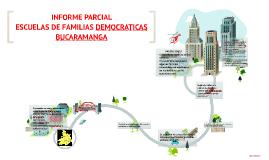 INFORME PARCIAL ESCUELAS DE FAMILIAS DEMOCRATICAS BUCARAMANG