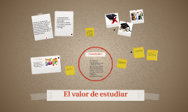 Copy of El valor de estudiar