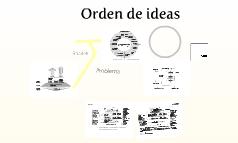 Orden de ideas
