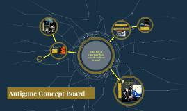Antigone Concept Board
