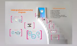 Copy of Undergraduate Internship