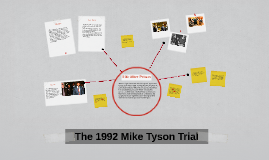 The 1992 Mike Tyson Trial