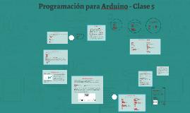 Programación para Arduino - Clase 5