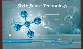 Copy of Sixth Sense Technology