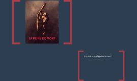 LA PEINE DE MORT