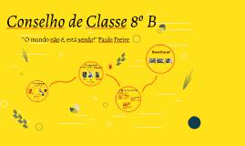 Copy of Consalho de Classe