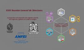 XXII Reunión General de Directores
