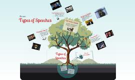 Copy of Types of Speeches