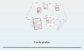 Uso de grafías