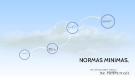 NORMAS MINIMAS.