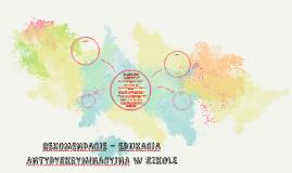 Copy of REKOMENDACJE - EDUKACJA ANTYDYSKRYMINACYJNA W SZKOLE