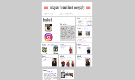 Instagram: the evolution of photography